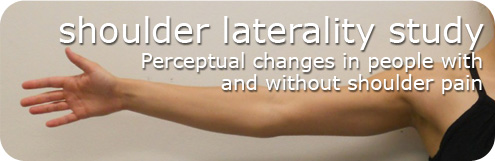 shoulder laterality study: perceptual changes in people with and without shoulder pain